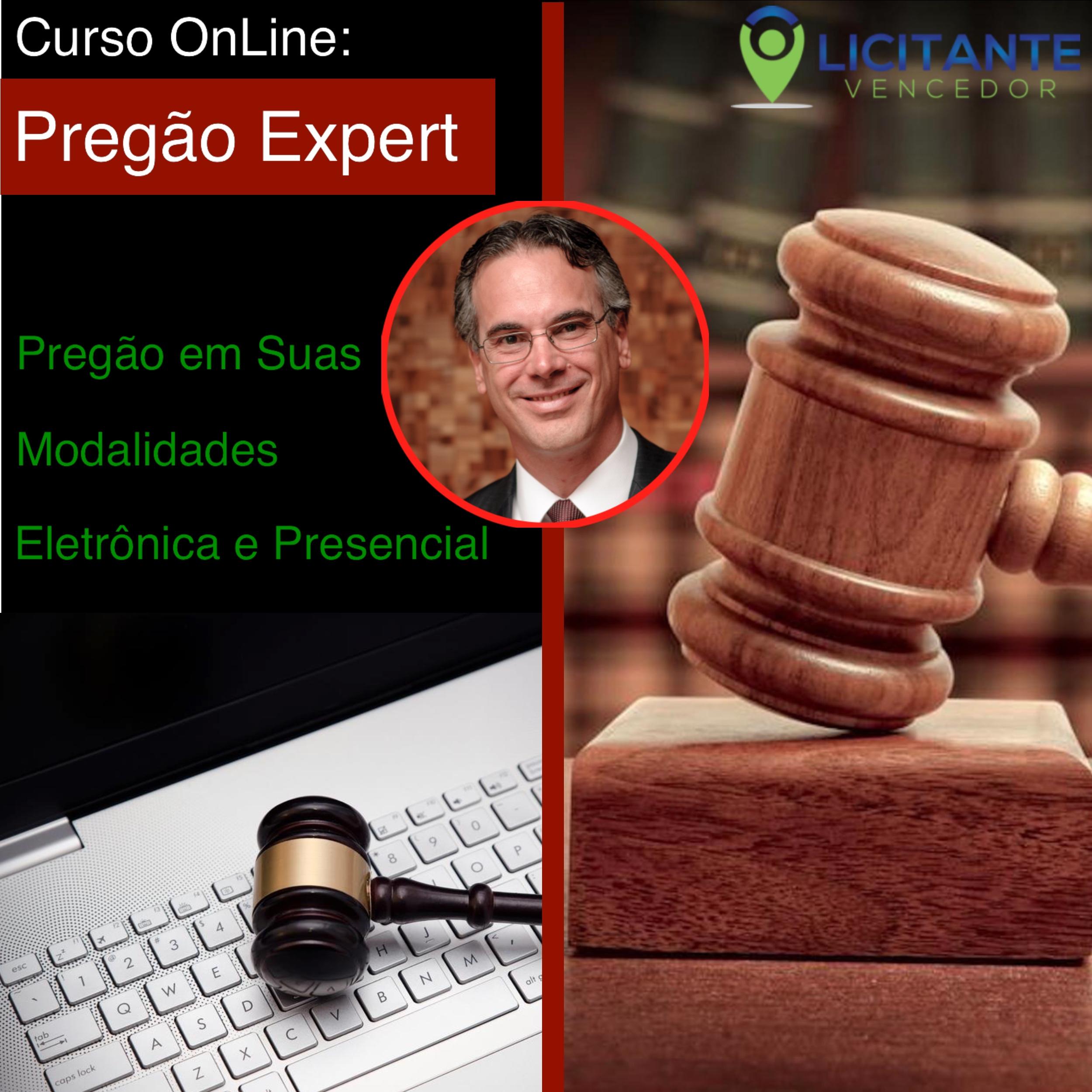 CURSO ONLINE PREGÃO EXPERT