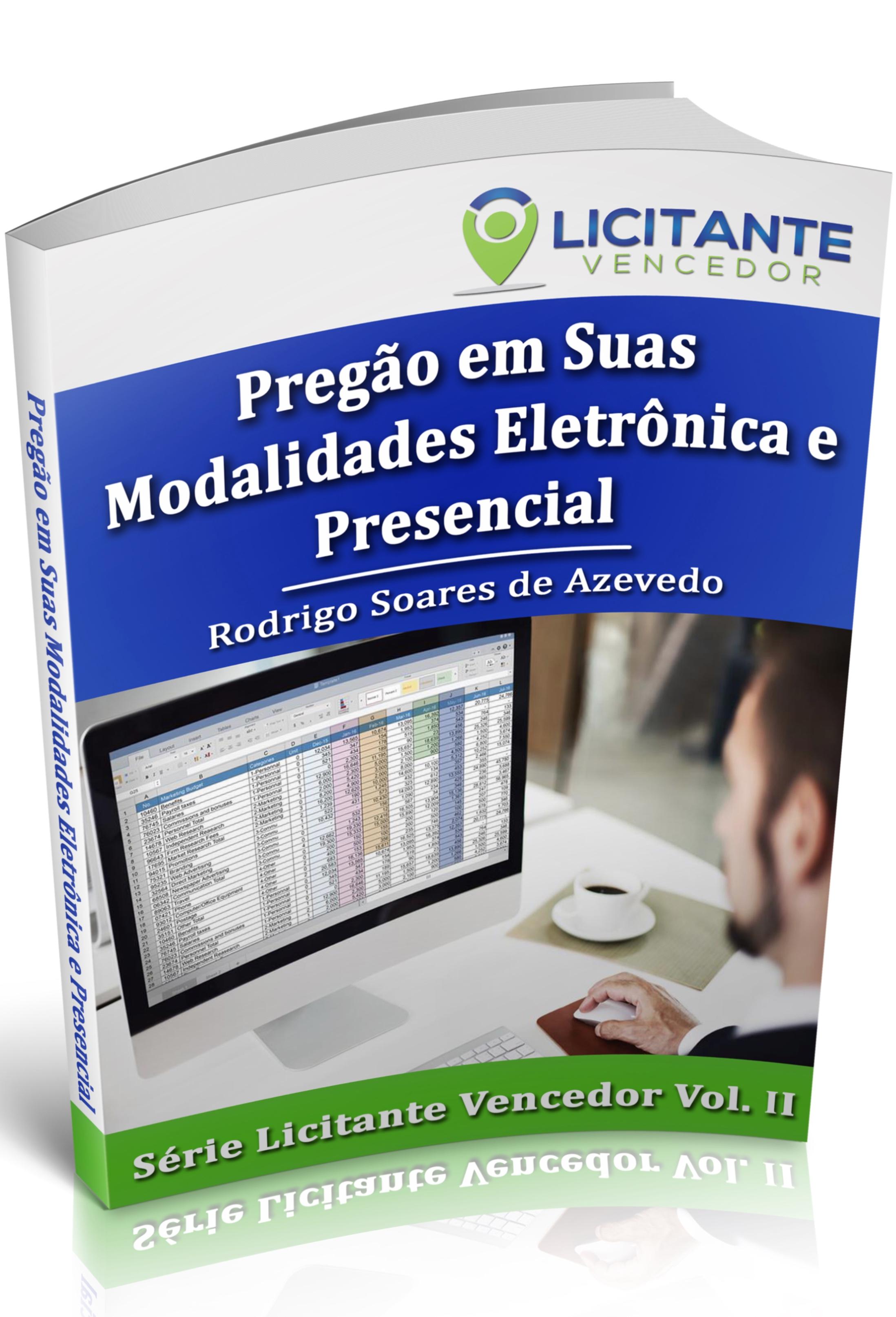 Ebook: PREGÃO em Suas Modalidades Eletrônica e Presencial